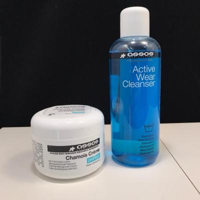 Assos Crème Chamois & Assos Active Wear Cleanser (300ml)