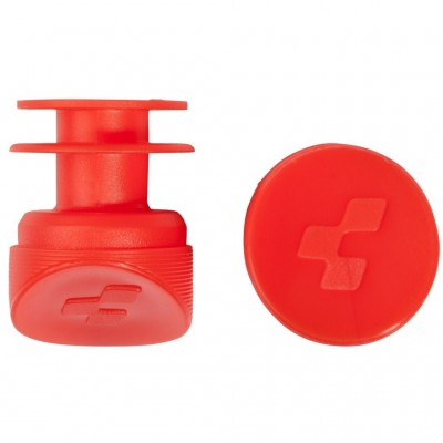Cube bar end plugs rood