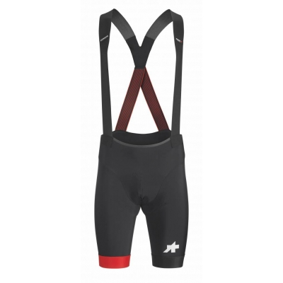 Assos Equipe RS BIB shorts S9, Nat Red