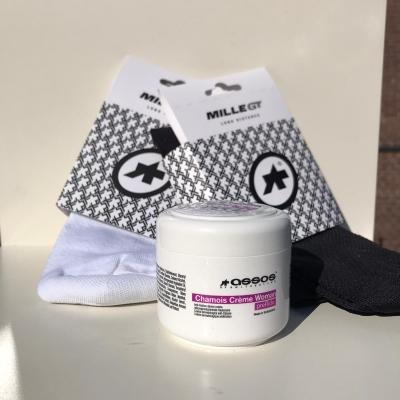 Assos Chamois creme woman & Assos mille GT sokken
